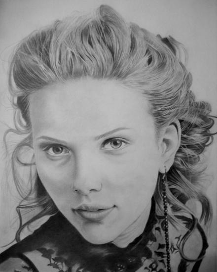 Scarlett Johansson por Chandan